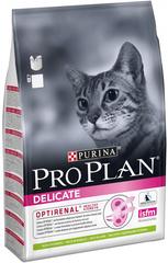 Purina Pro Plan Delicate для взрослых кошек и котов с чувствительной пищеварительной системой с ягненком