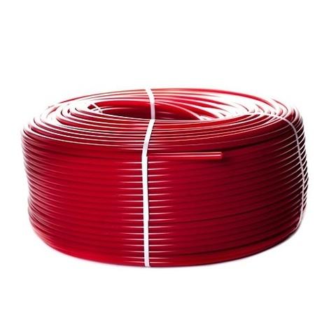 Труба из сшитого полиэтилена STOUT - 16x2.0 (PE-Xa/EVOH, PN8, Tmax 95°C,  бухта 500 м, цвет красный)