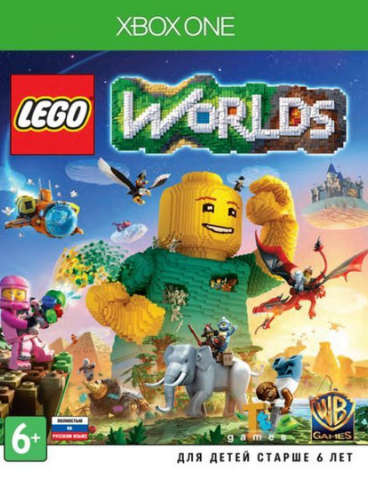 Xbox One LEGO Worlds (русская версия)