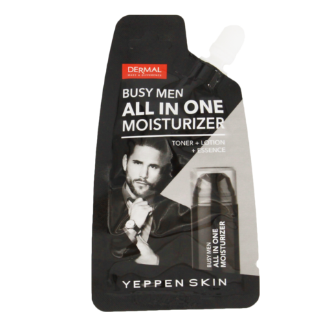 Крем для лица 3в1 мужской Yepopen Skin Busy Men All In One Moisturize, 15 г
