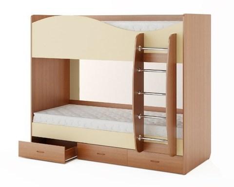 Кровать КР-05 бук / персик