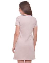 Сорочка для беременных и кормящих  цвет бежевый