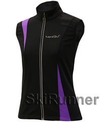Лыжный жилет Nordski Active Black/Violet женский