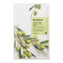 Mizon Joyful Time Essence Mask Olive - Тканевая маска для лица в экстрактом оливы