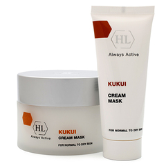 Holy Land Kukui Cream Mask For Dry Skin - Питательная маска