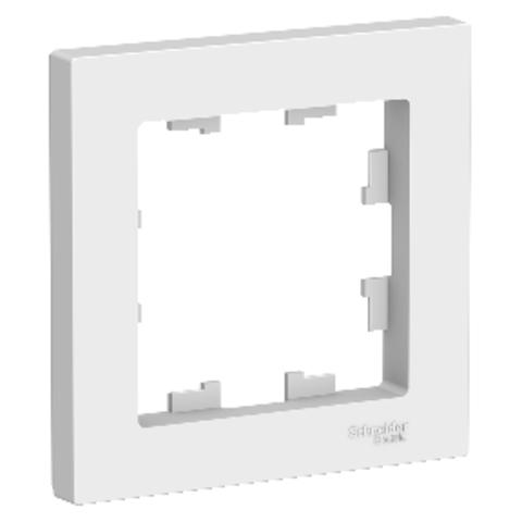 Рамка на 1 пост. Цвет Белый. Schneider Electric AtlasDesign. ATN000101