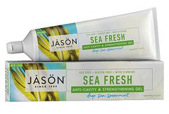 """Укрепляющая гелевая зубная паста """"Морская свежесть"""", Jason"""