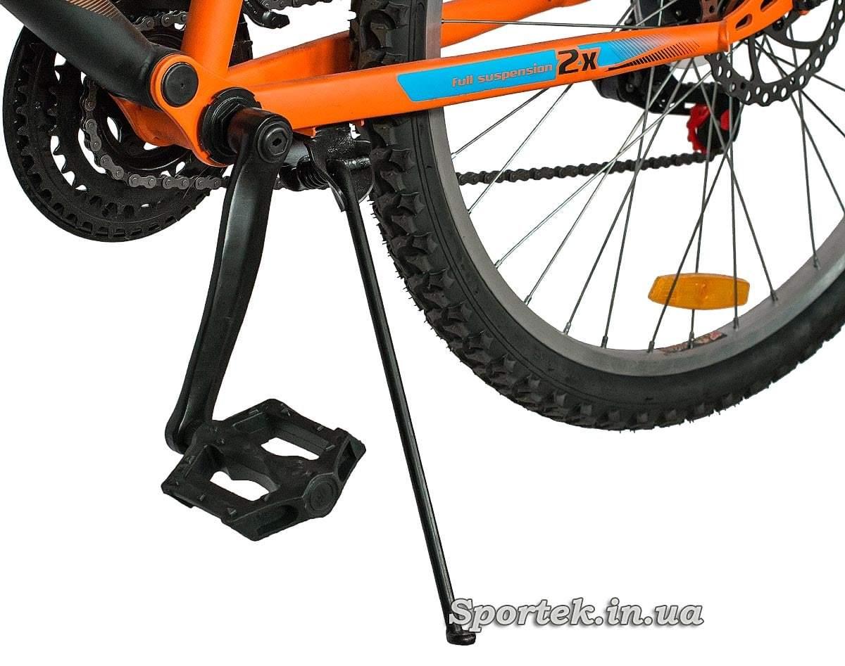 Подножка  горного мужского велосипеда Discovery Canyon DD 2016  (Дискавери Каньон)
