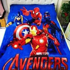 Мстители одеяло детское флисовое