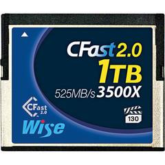 Карта памяти Wise 1TB CFast 2.0 525/450 MB/s VPG-130