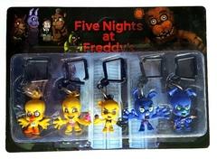 Набор брелков Five Nights at Freddys