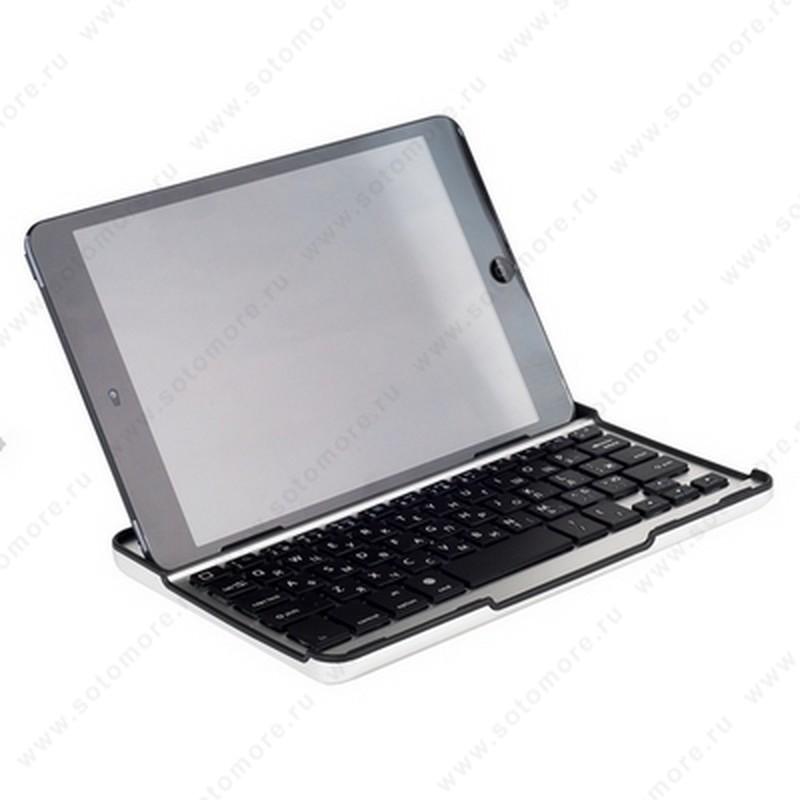 Клавиатура для iPad mini Mobile bluetooth keyboard черная с русскими буквами