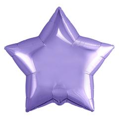 Шар звезда сиреневый