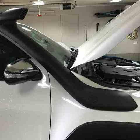 Установка шноркеля на Toyota Hilux