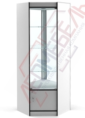 ВУ-164 Витрина стеклянная угловая серия