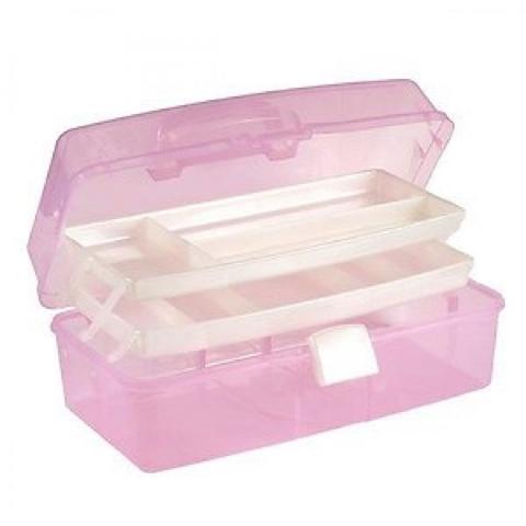 Контейнер пластиковый  для хранения  гель лаков и аксессуаров