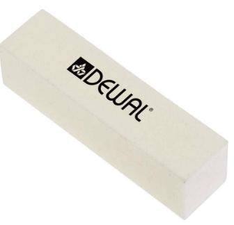 Брусок 9104211K шлифовальный, белый (Dewal)
