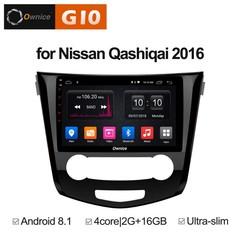 Штатная магнитола на Android 8.1 для Nissan X-trail 3 manual AC 16+ Ownice G10 S1667E