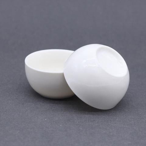 Чашка белая, фарфор, 50мл