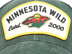 Бейсболка NHL Minnesota Wild