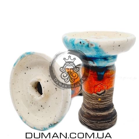 Чаша Kolos Romerica (Колос) |White Blue Orange