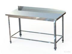 СПБ (по)-18-6 Стол производственный с бортом (1800х600х870 мм.) (обвязка)