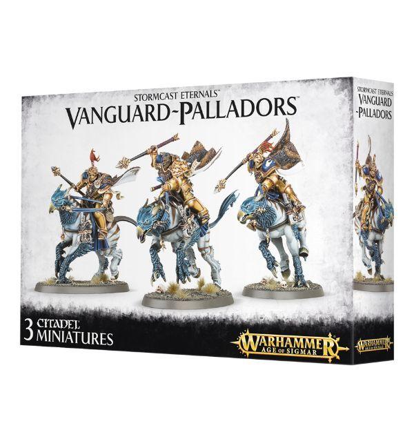 Vanguard-Palladors. Коробка
