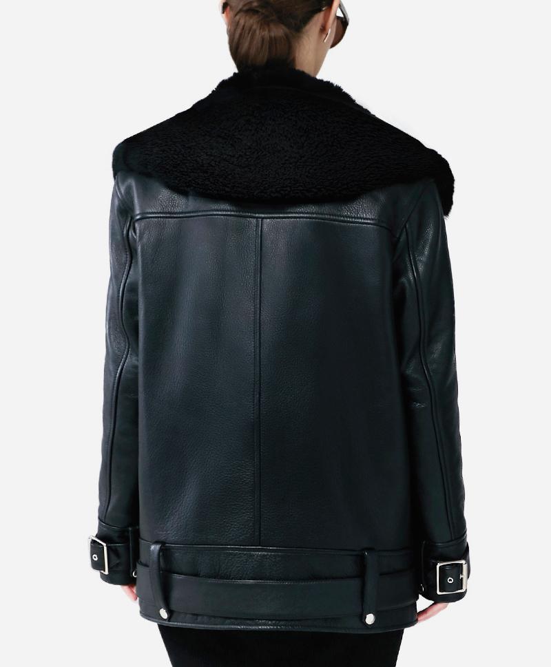 Кожаная куртка Curly Moto Jacket
