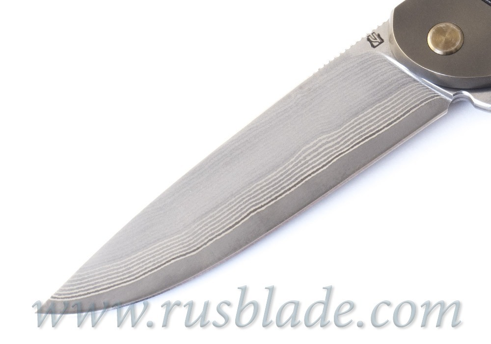 Cheburkov Scout laminated steel Liner Lock Best Russian Knives