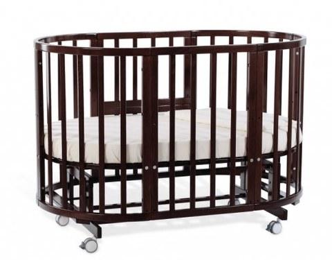 Кровать-трансформер Nuovita NVL1501 NIDO MAGIA Noce scuro