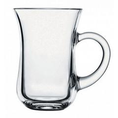 Кружка Pasabahce стеклянная прозрачная 140 мл (артикул производителя 55411)