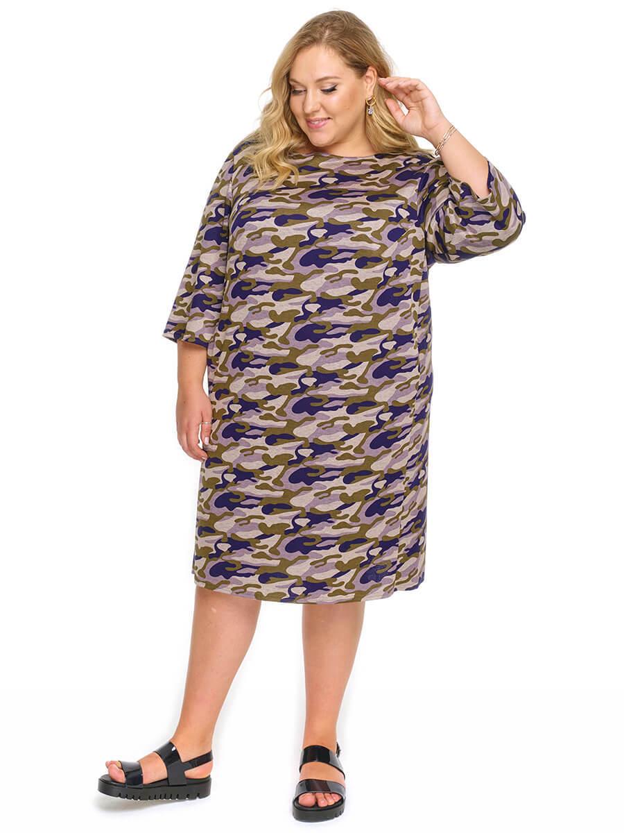 Платье-туника Милитари