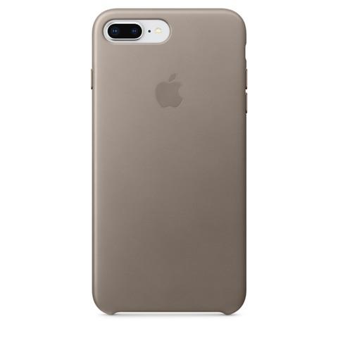 Чехол iPhone 7 Plus Leather Case /taupe/