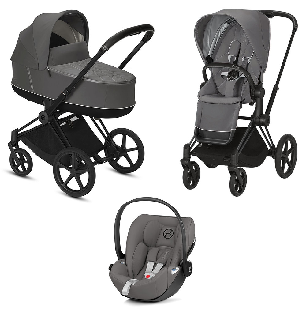 Cybex Priam 3 в 1 Детская коляска Cybex Priam III 3 в 1 Soho Grey Matt Black cybex-priam-iii-3-in-1-2020-soho-grey-matt-black.jpg