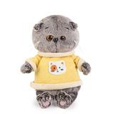 Кот Басик Baby в желтой толстовке купить в интернет-магазине