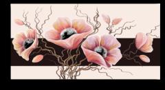 "Постер ""Розовые маки"""