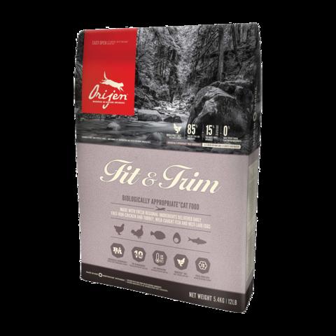 Orijen Fit & Trim Сухой корм для кошек с избыточным весом Цыпленок беззерновой