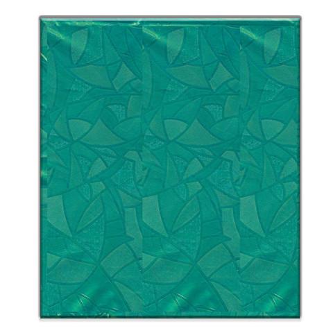 Скатерть одноразовая ПВХ 120x180 см зеленая