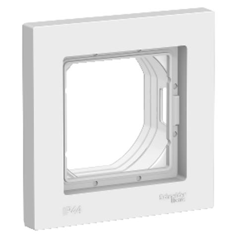 AQUA Рамка на 1 пост IP44. Цвет Белый. Schneider Electric AtlasDesign. ATN440101