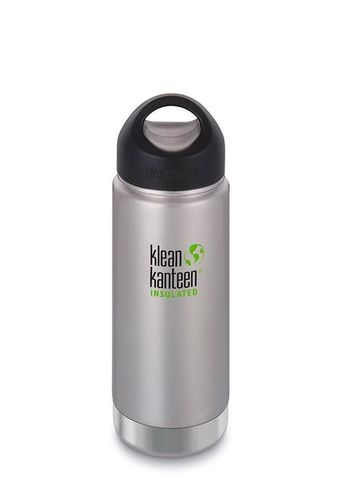 #Термобутылка Klean Kanteen Insulated Wide Loop Cap 473мл Brushed Stainless