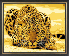 Гепард - картина со стразами
