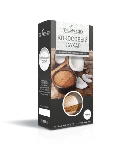 Polezzno кокосовый сахар 100 г