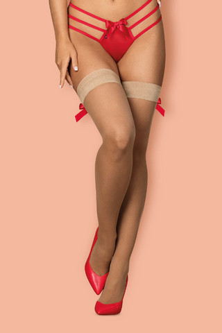 Чулки S 808 Stockings Obsessive