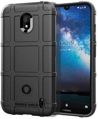 Чехол Nokia 2.2 цвет Black (черный), серия Armor, Caseport