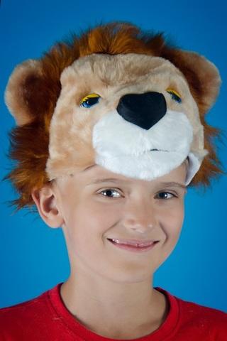 Карнавальная шапочка Льва