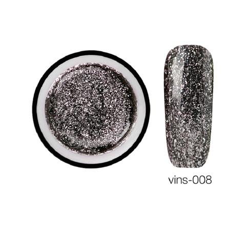 Гелевая краска Vins с блестками 08, 5 мл.