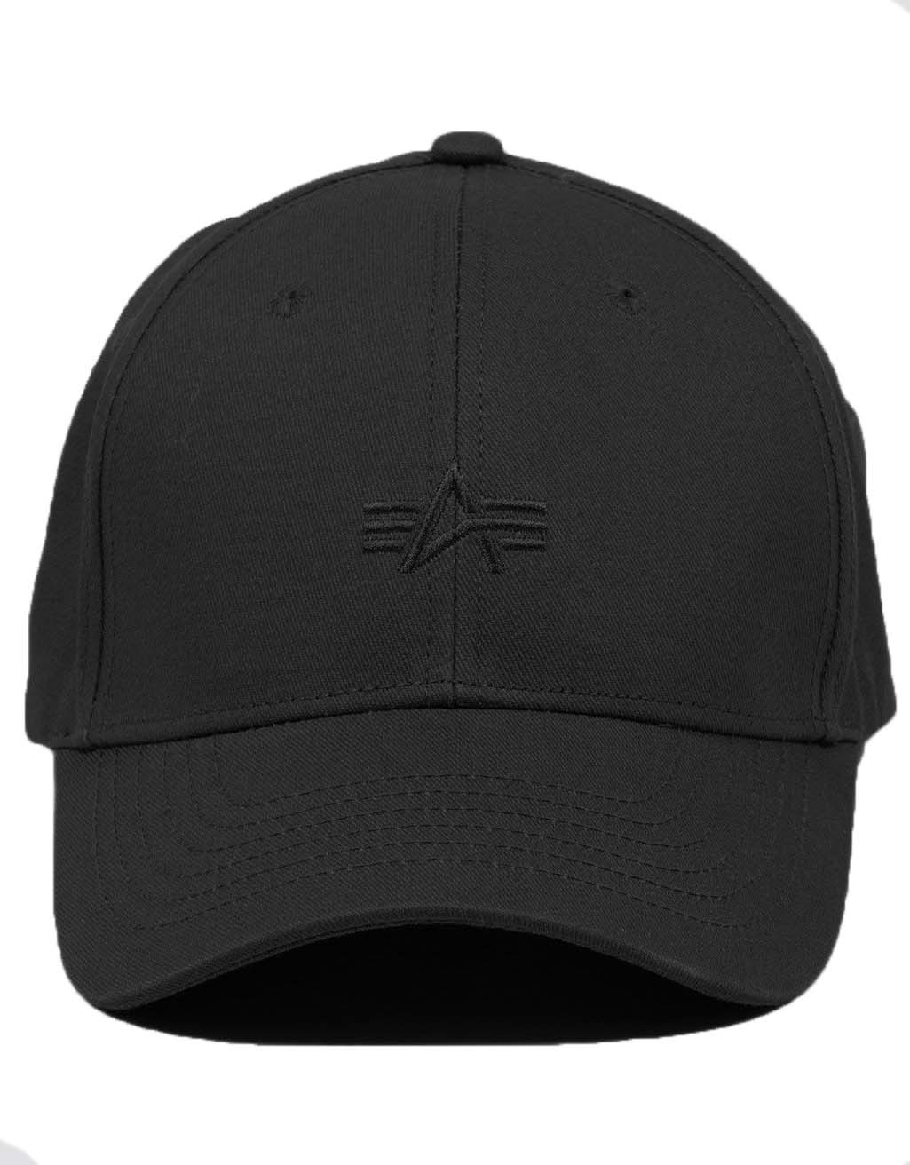 Кепка Alpha Embroidered Cap (черный - black)