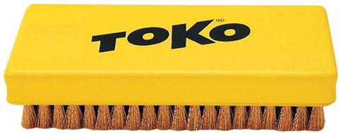 Картинка щетка Toko ручная, медная 14 мм