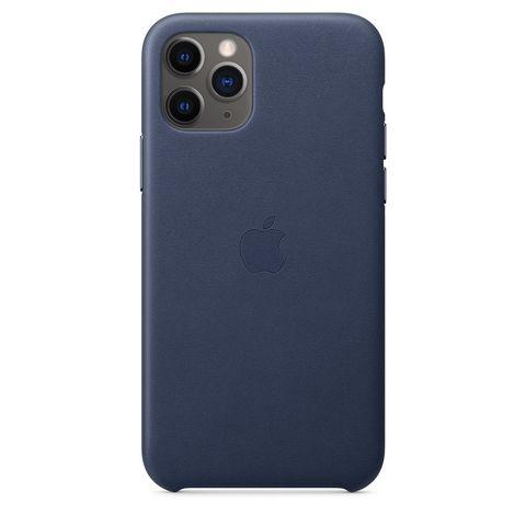 Чехол iPhone 11 Pro good Leather Case /midnight blue/