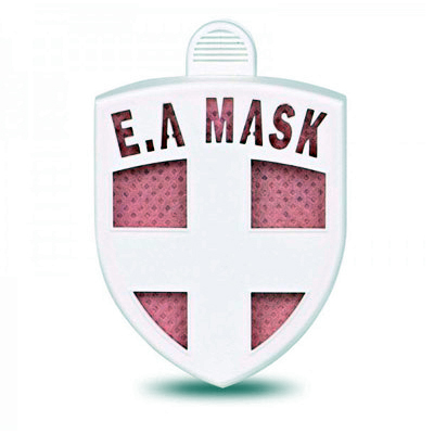 ECOM Air Mask (PINK) - virus blocker as clip on clothes